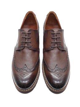 Туфли - Броги коричневые, 0