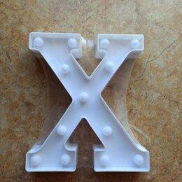 Украшения для организации праздников - Светящаяся буква X, 0