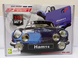 Ретро консоли - Hamy 4 Gran Turismo Blue, 0