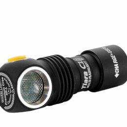 Аксессуары и комплектующие - Фонарь Armytek Tiara C1 USB XP-L (Теплый свет) (Серебро), 0
