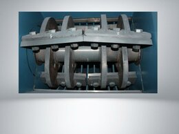 Производственно-техническое оборудование - Дробилка с моющим шнеком 45 кВт на 800 кг/ч, 0