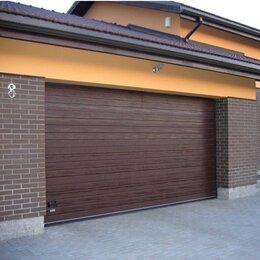 Заборы, ворота и элементы - Секционные ворота 3х3,5м, 0