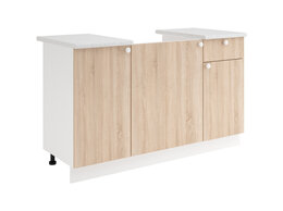 Шкафы, стенки, гарнитуры - Шкаф нижний Ронда мойка 1400, 0
