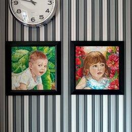 """Картины, постеры, гобелены, панно - Нинина картина. """"Прятки. Капуста"""", 0"""