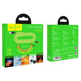 """Зарядные устройства и адаптеры - Кабель """"Hoco"""" X21 Plus 3.0A 1 м для Type-C, 0"""