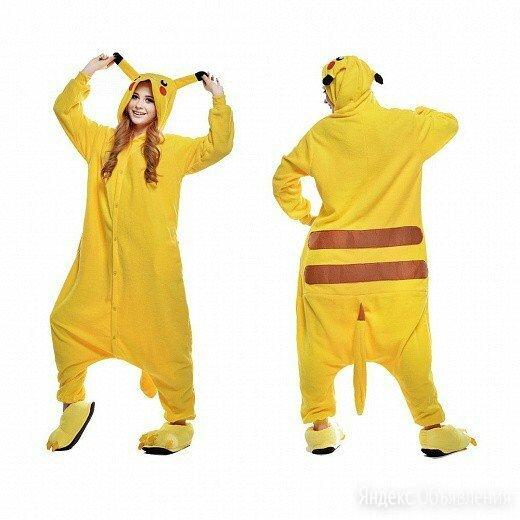 Пижама кигуруми Пикачу, взрослый по цене 1690₽ - Кигуруми, фото 0