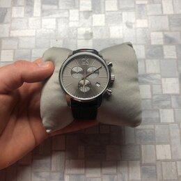 Наручные часы - Швейцарские наручные часы Calvin Klein K2G271C3 с хронографом., 0