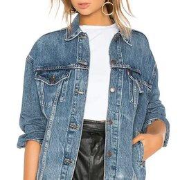 Куртки - Джинсовая куртка levis жен. Новая , 0