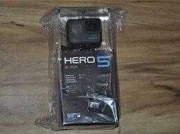 Экшн-камеры - GoPro Hero 5 Black (новая, запечатанная), 0