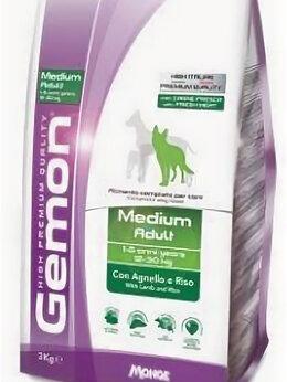 Корма  - Корм Gemon Dog Medium Adult для собак средних поро, 0