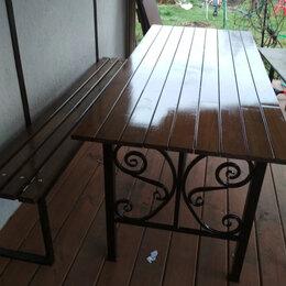 Столы - Стол садовый (дачный) кованый СтЕ, 0