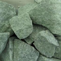 Камни для печей - Камень для бани жадеит колотый,обвалованный (камни для бани), 0