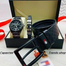 Наручные часы - Мужской набор часы браслет и ремень, 0
