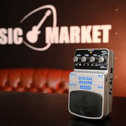 Процессоры и педали эффектов - Педаль эффектов для электрогитары Behringer DR600 Digital Reverb, 0