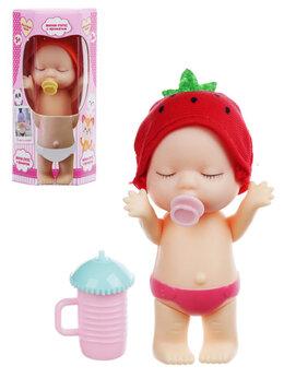 Куклы и пупсы -  Мини-пупс с аксессуарами, аромат, писает, пьет,…, 0