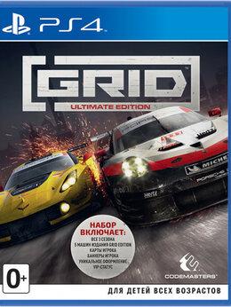 Игры для приставок и ПК - PS4 Grid Ultimate Edition, 0