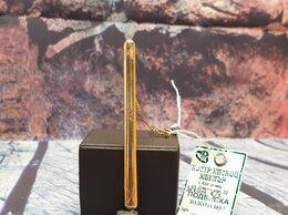 Запонки и зажимы - Золотой зажим для галстука 585 пробы  массой 2,6…, 0