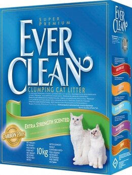 Наполнители для туалетов - Ever Clean Extra Strength Scented 10 кг, 0