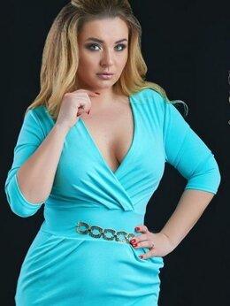 Платья - Нарядное платье с декольте. Размер 50,52,54, 0