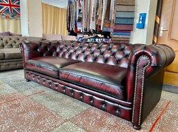 Диваны и кушетки - диван Westminster кожа brush-off Red, 0