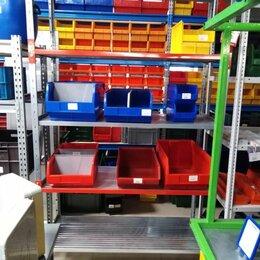 Мебель для учреждений - Стеллаж РС 2200*450*1200 ( 5полок), 0