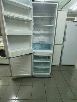 Холодильники - Б у серебристый холодильник Daewwo no frost , 0