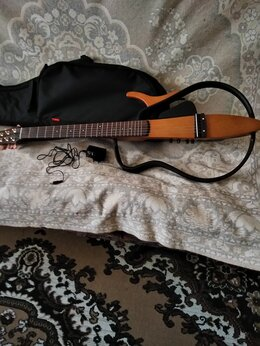 Акустические и классические гитары - Ямаха  SLG110S силент гитара, 0