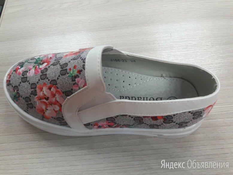 мокасины  для девочек новые лето по цене 600₽ - Балетки, туфли, фото 0