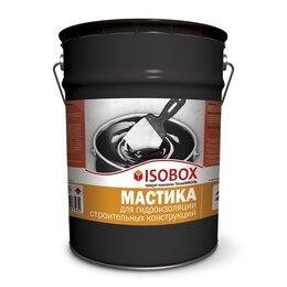 Изоляционные материалы - Мастика гидроизоляционная ISOBOX, ведро 20 кг, 0