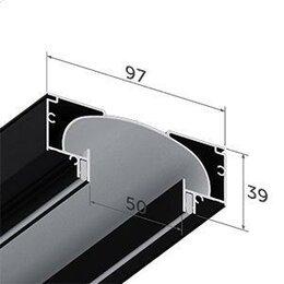 Отделочный профиль, уголки - Нишевая световая линия SLOTT черно-белая, 0