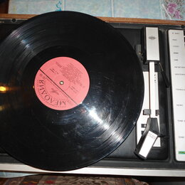 Музыкальные центры,  магнитофоны, магнитолы - проигрыватель винила Рондо 204 стерео, 0