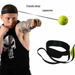 Тренировочные снаряды - Мячик на резинке для бокса, 0