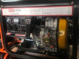 Электрогенераторы - Генератор дизельный Redverg RD-D5000EN, 0