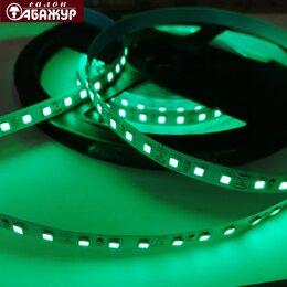 Светодиодные ленты - Светодиодная лента 12V 120LED 9,6W зелёная, 0
