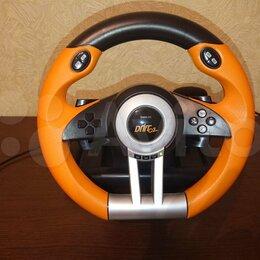 Рули, джойстики, геймпады - Игровой руль SpeedLink drift O.Z. Racing Wheel, 0