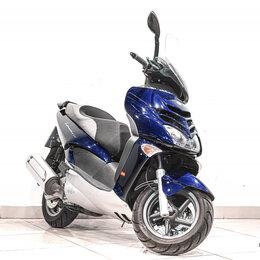 Мототехника и электровелосипеды - Скутер APRILIA Leonardo 300 2004, СИНИЙ пробег 1793, 0