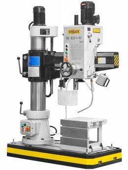 Принадлежности и запчасти для станков - Станок радиально-сверлильный STALEX RD820x40, 0
