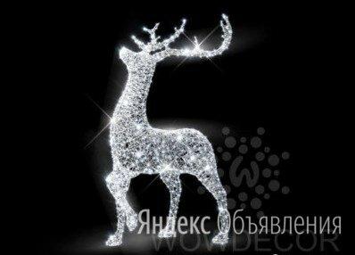 Световая фигура Олень (цвет на выбор) по цене 78050₽ - Новогодний декор и аксессуары, фото 0