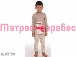 Домашняя одежда - ⭐Детская пижама «Пижама Медведик (бежевый)»,…, 0
