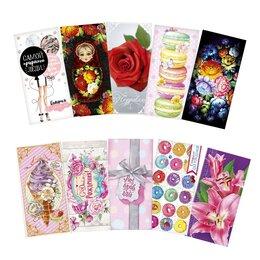 Конверты и почтовые карточки - Конверт для денег «Для настоящей леди»,, 0