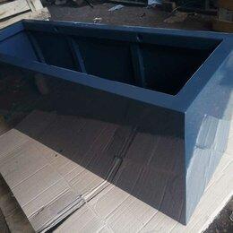 Садовые фигуры и цветочницы - Ящик-кашпо металлический д-ш-в 1,2х0,4х0,5 метра, 0