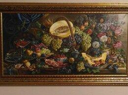 Картины, постеры, гобелены, панно - картина на холсте маслом, натюрморт с фруктами, 0