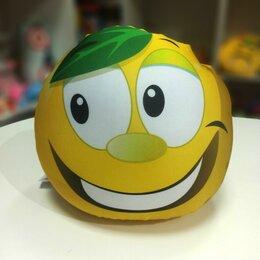 """Игрушки-антистресс - игрушка-подушка антистресс """"Сочный лимон"""", 0"""