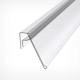 Расходные материалы - Ценникодержатель на корзины из металлических прутьев KE39 длина 1000 мм. , 0