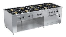Промышленные плиты - Плита газовая Вулкан ПРГ-IIA-10 ДШ Maxi, 0