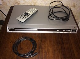 DVD и Blu-ray плееры - DVD-плеер Panasonic+диски с фильмами, 0