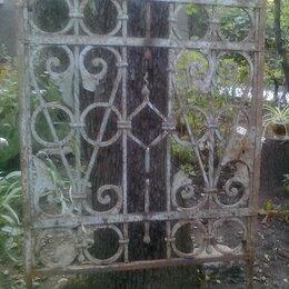 Заборы, ворота и элементы - Калитка кованная, XIX в. Антиквар, 0