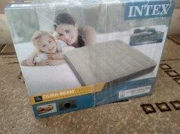 Надувная мебель - Надувной матрас Intex Deluxe Single-High (Новый), 0