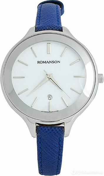 Наручные часы Romanson RL4208LW(WH)BU по цене 4100₽ - Наручные часы, фото 0