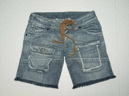 Шорты - Шорты джинсовые «OBJECT». Made in Romania. S…, 0